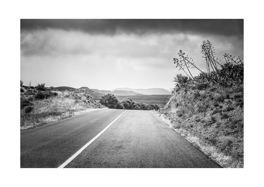 009 Andalucian Road, Spain, a3 print on Canon Premium Fine Art Smooth paper (Hahnemuhle 100% Cotton Rag 310g), printed on Canon Pixma Pro-1